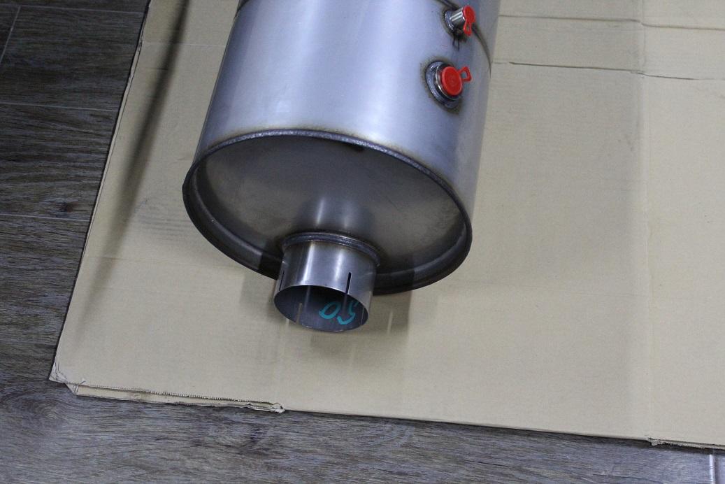 Catalyst muffler cummins 5262531-sukorun