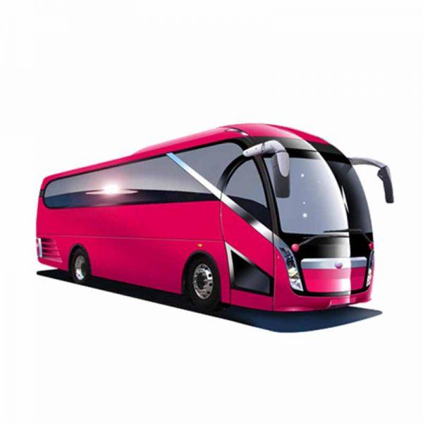 1.1 12 meter coach body design for interior and exterior